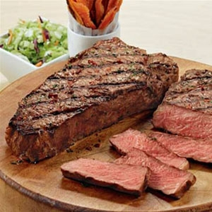 How to grill sirloin strip